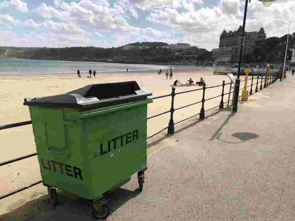 Visual aids for those struggling to find rubbish bins 4
