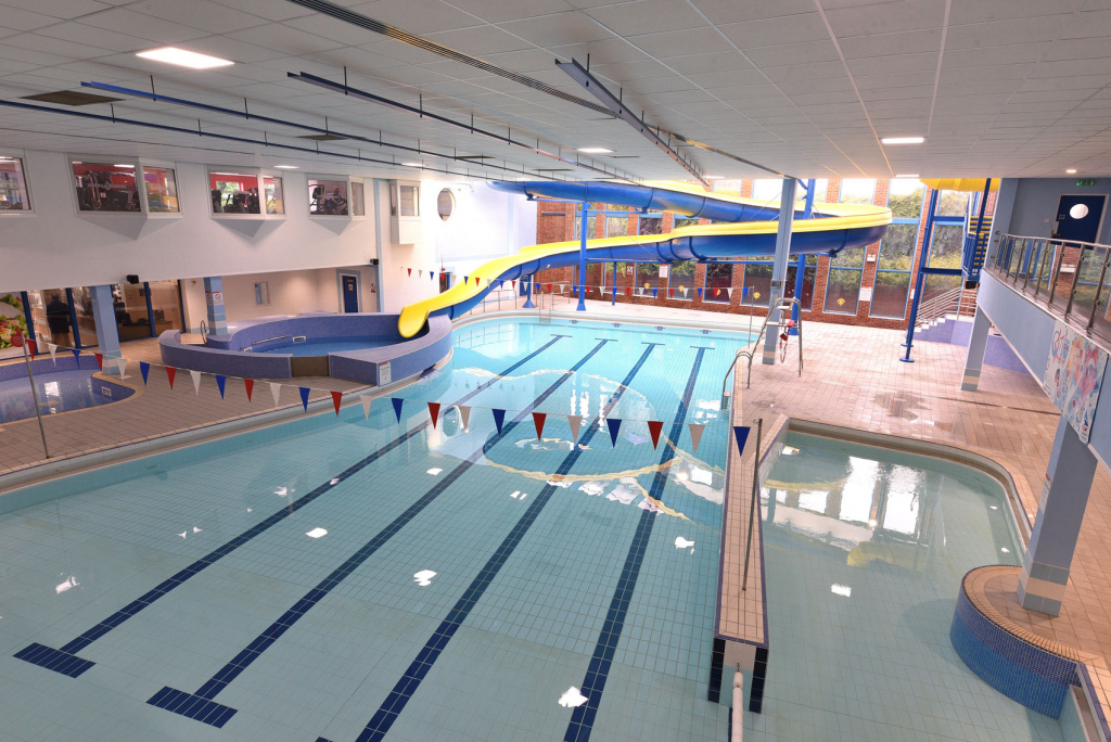 East Riding Leisure Withernsea's popular swimming pool and flume re-opens after extensive refurbishment 3